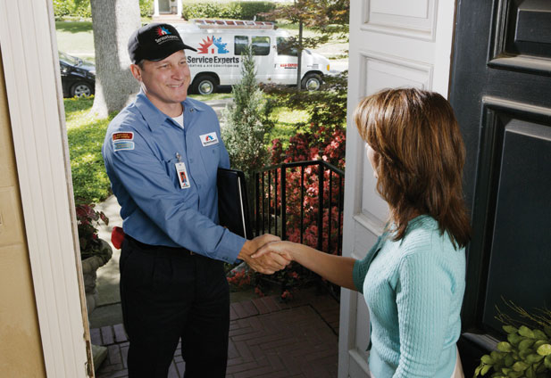 in-home estimate from A1 Chesney Service Experts Heating & Air Conditioning